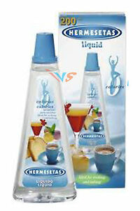 hermesetas  HERMESETAS LIQUID 200ML. LIQUID SWEETENER IDEAL FOR COOKING & BAKING ...