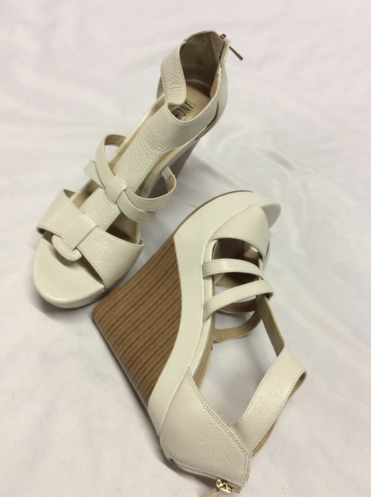 INC International Concepts CRESSIDA Damens's Wedge Sandales,Bridal Cream Größe10 Größe10 Größe10 M 6c02fe