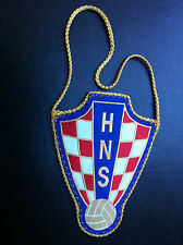 CROATIA - FLAG - HNS - CROATIAN FOOTBALL FEDERATION - Hrvatski nogometni savez