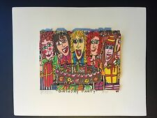 "James RIZZI: original 3D ""BIRTHDAY PARTY"", handsigniert, 1989 - vergriffen"