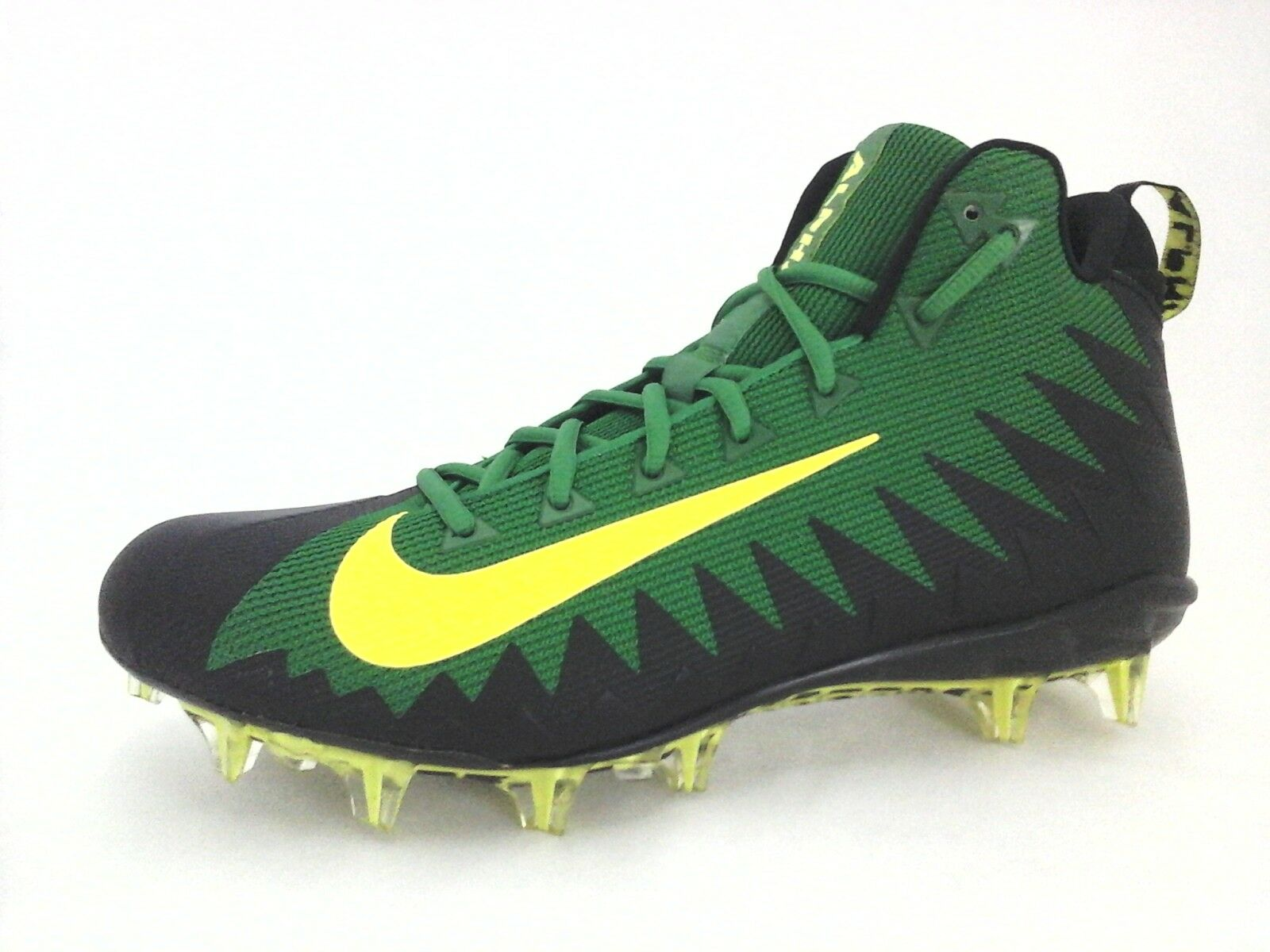 NIKE ALPHA MENACE Elite Football Cleats shoes Green Volt 884527 Mens US 12