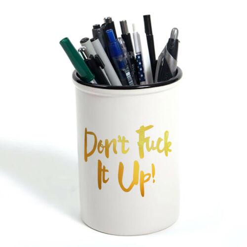 Don/'t F*ck it Up Themed Funny Wallet,Pencil Case//Pot,Teddy Bear,Water Bottle