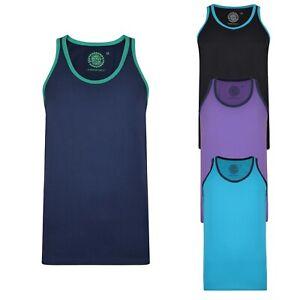 KAM-Mens-Big-Plus-Size-Vest-Sleeveless-Tank-Tops-Regular-Fit-Training-Gym