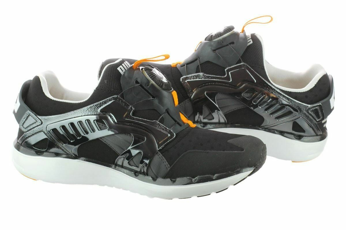 Puma LITE futuro disco LITE Puma T 356389801 negro / Zinnia / naranja hombre zapatillas zapatos b1a7e0
