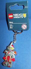 LEGO Keychain NEXO KNIGHTS mini-figure key chain MACE red knight
