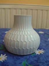 Fürstenberg Relief-Vase op art 70s