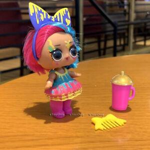 ULTRA RARE Lol Surprise Doll Splatters Hairgoals Makeover Series 5 Hairspray