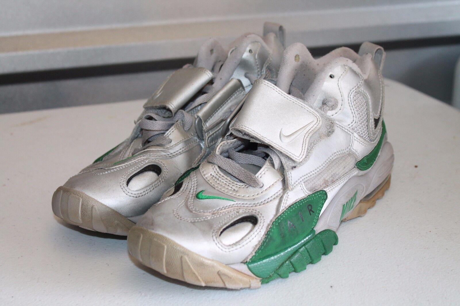 Nike Metallic Air Max Speed Turf Metallic Nike Silver Green 525225 001 size 9 2097f8