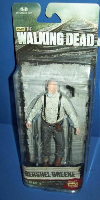 McFarlane The Walking Dead Series 6 Hershel Greene Action Figure New In Package