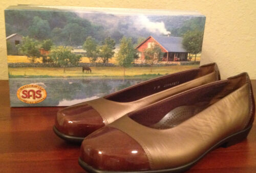 Bronze Nib M Brown Shoes Womens 1 Tripad Flats 153 Coco Sas 6 2 Comfort gArnx4wg