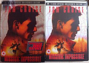 Mission-Impossible-DVD-1996-Original-Spy-Movie-2-Disc-Spec-Ed-w-Slipcover