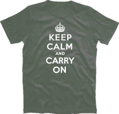 Keep Calm and Carry on England T-Shirt S-XXXL