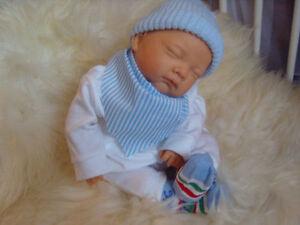 TYLER-Boy-Newborn-Size-Boy-Childs-1st-Reborn-Baby-Doll-Girls-Birthday-Xmas-Gift