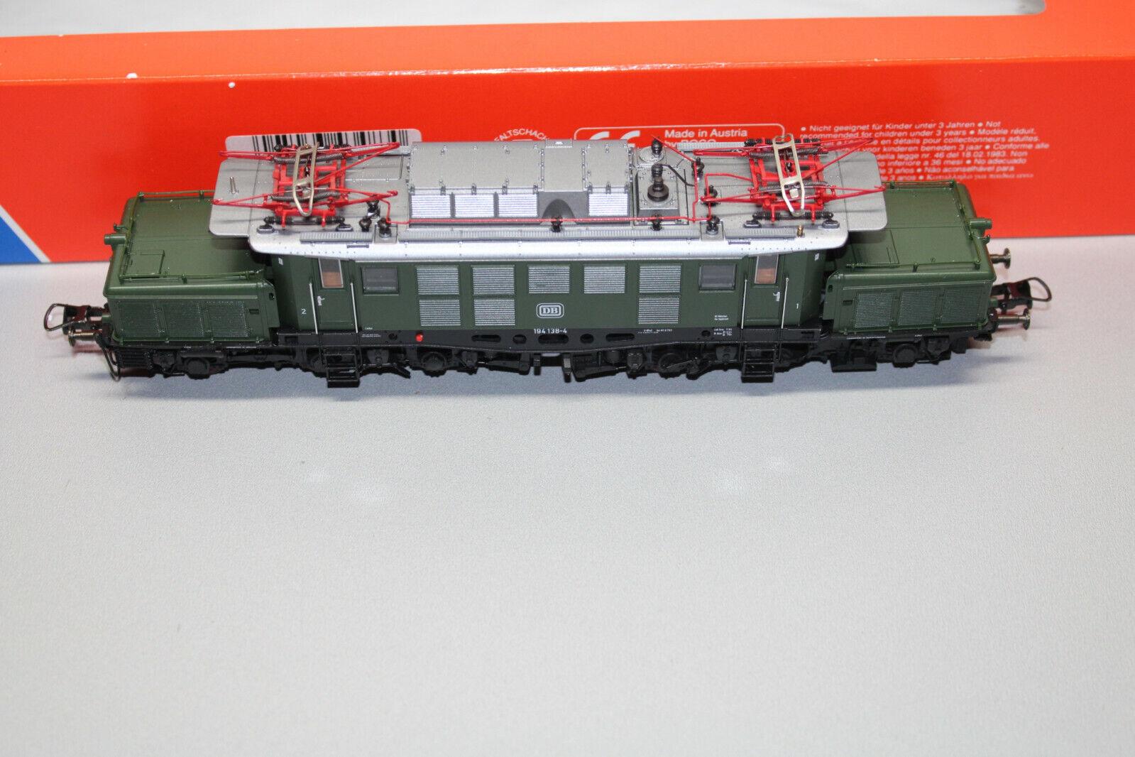 ロコ43483電気機関車シリーズ194 138 - 4 DBグリーンスケールH 0 EMB。オリグ