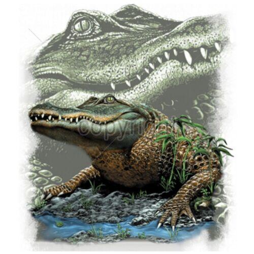 Swamp Alligator Size 2 X Large-7 X Large Mens Tank Tops