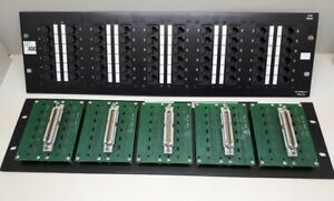 Motivated Adc 5100 Series 60 Port Patch Panel 10/100 Base-t Ethernet Aesthetic Appearance pp605100tel