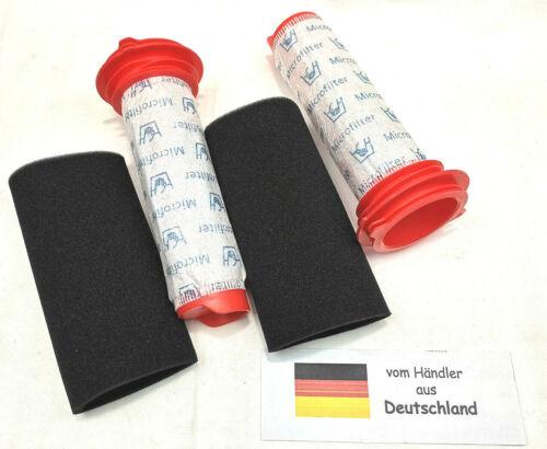 2x Filter Set passend für Bosch BCH6256N1//01 BCH6256N1//02 Athlet25,2V
