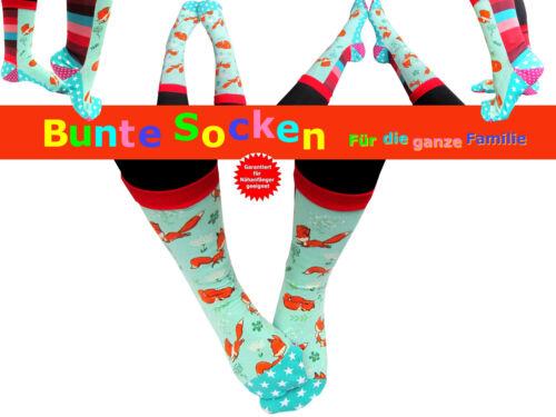 Bunte Socken nähen für die ganze Familie Schnittmuster und Nähanleitung