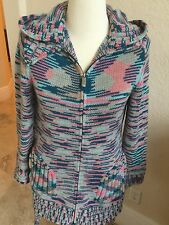 Missoni 100% cashmere coat/sweater, size M/L