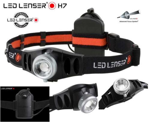 LED LENSER H7 HEAD LAMP TORCH FLASHLIGHT