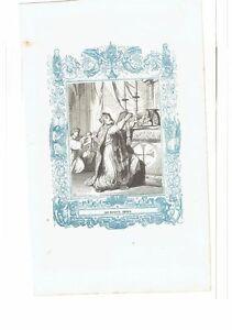 1852 Grabado, San Ruperto Obispo