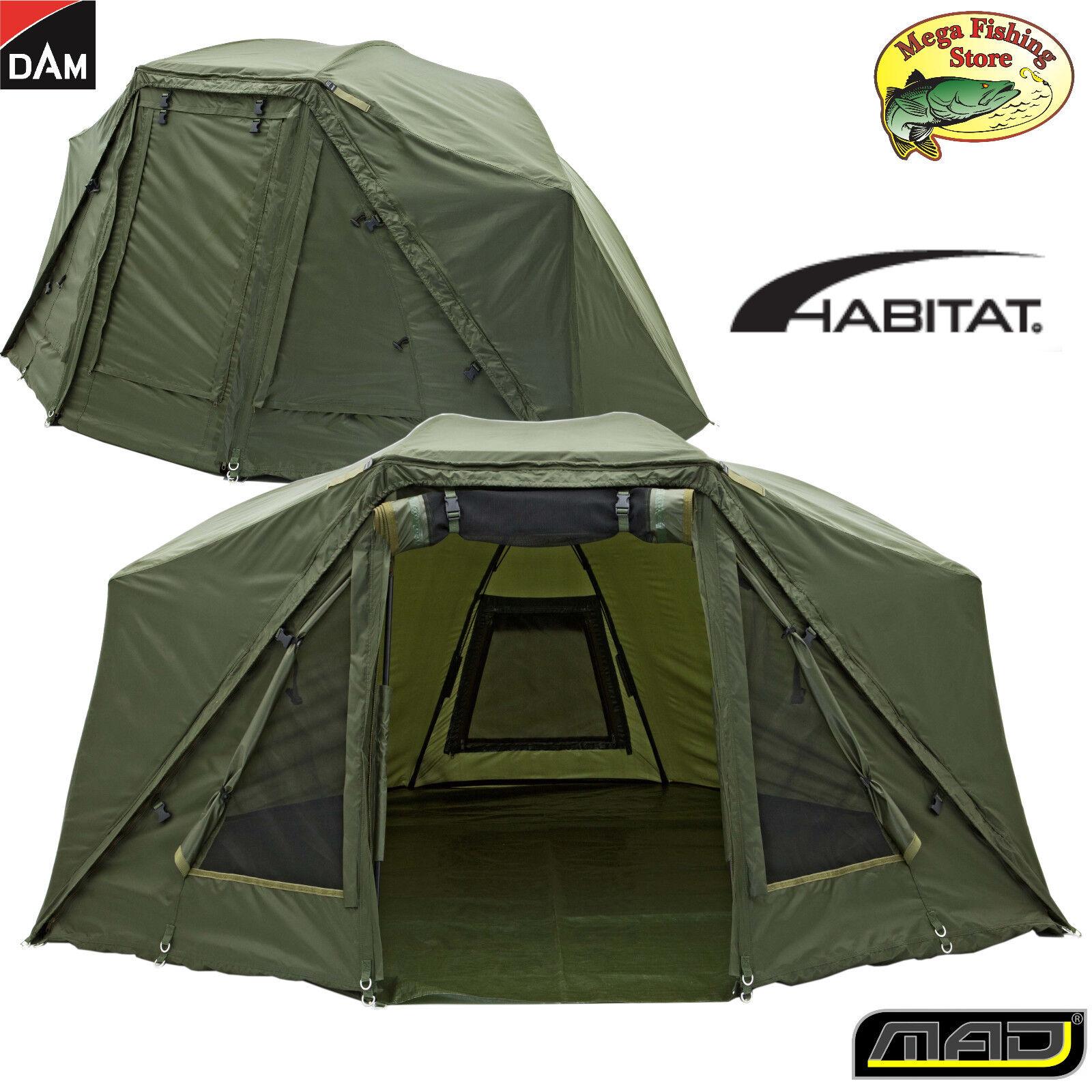 DAM Brolly System Plus Outdoor Zelt - Angelzelt   Karpfenzelt - bis 2 Personen