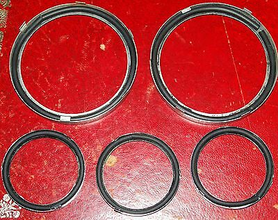 MGB /& MGBGT glass to bezel instrument seals for the rubber bumper cars 5