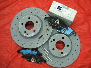 Genuine-Mercedes-Benz-W212-E-Class-Saloon-Est-Front-Discs-amp-Pads-Kit-NEW