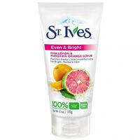 St Ives Even & Bright Pink Lemon & Mandarin Orange Scrub - 6 Oz Tube