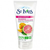 St Ives Even & Bright Pink Lemon & Mandarin Orange Scrub - 6 Oz Tube