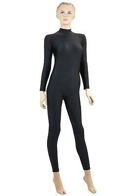 Damen Ganzanzug RRV Weiß Sport Voltigieranzug stretch elastisch shiny