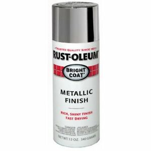 Aluminum Metallic Silver Spray Paint Acrylic Lacquer Rustoleum Can Painting 11oz Ebay