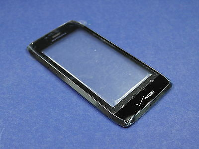 Motorola Droid 4 XT894 Replacement Digitizer Touch Screen Glass w Front Frame