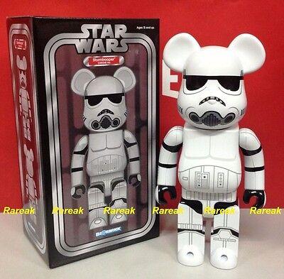 Medicom EXPO 2015 Be@rbrick Star Wars 400/% Stormtrooper Chrome BEARBRICK 1pc