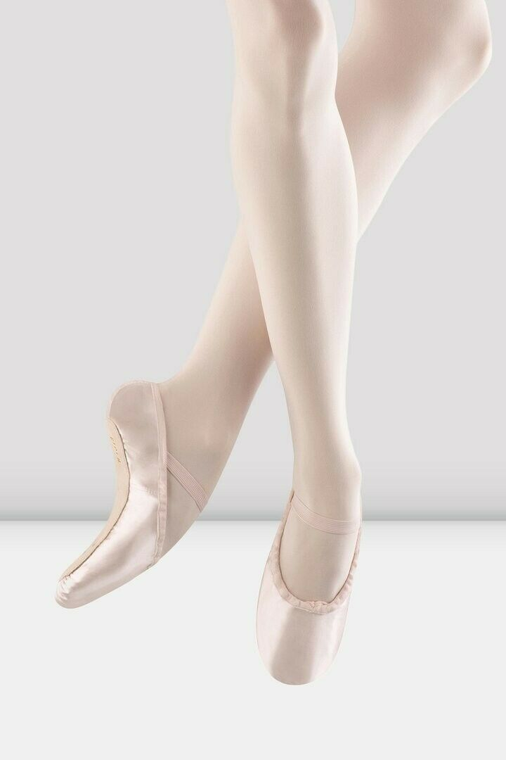 Pink Satin Ballet Shoes Brand New Baby Size 6