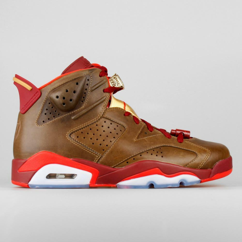 2014 Nike Air Jordan 6 VI Retro Cigar Celebration Size 8.5. 384664-250 1 2 3 4 5
