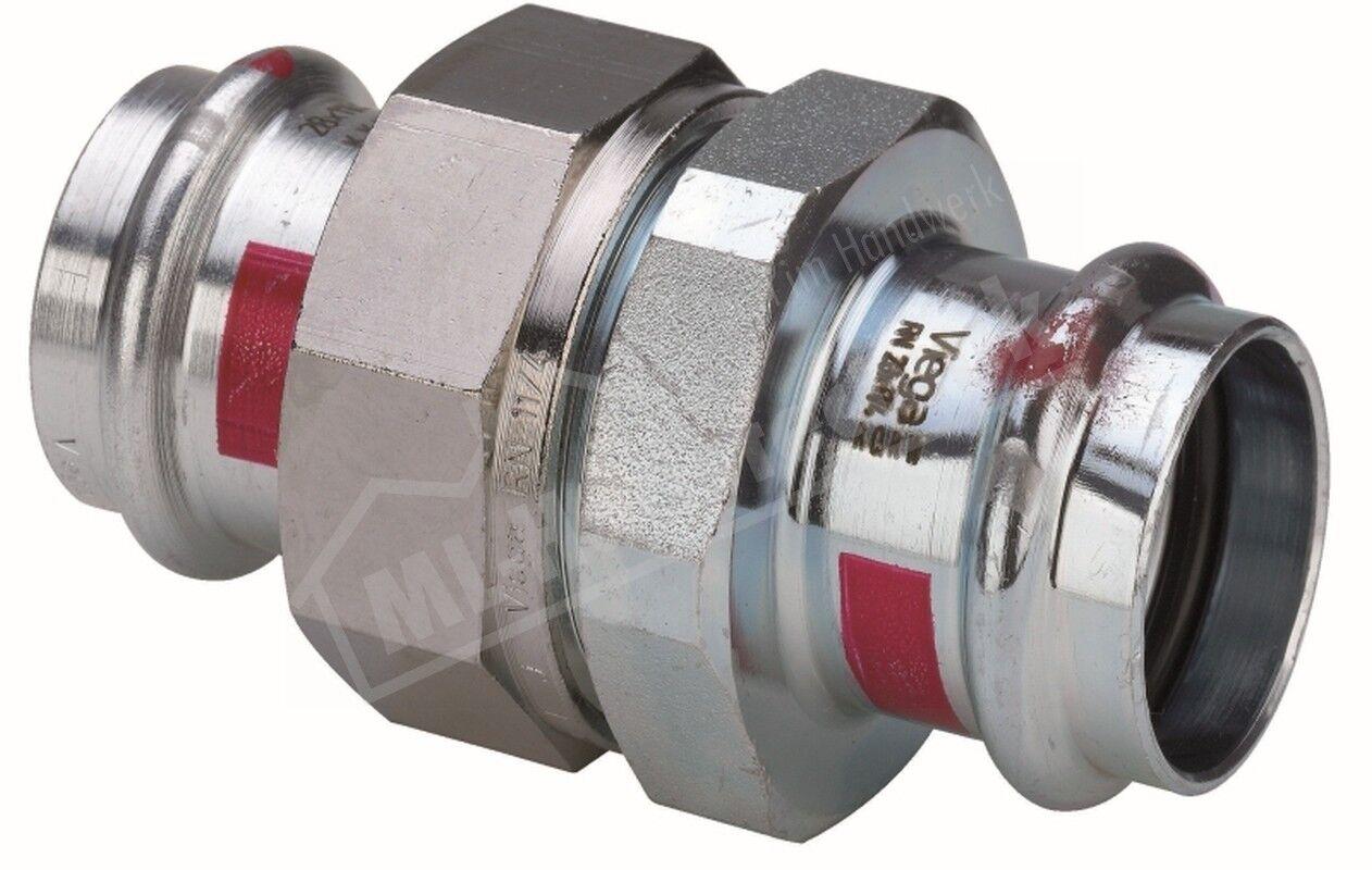 Viega press Prestabo C-Stahl verzinkt Verschraubung flachdichtend 22-28-35-42-54