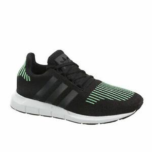 Details about Adidas Originals Swift Run J Kids Juniors Lace Up Trainers Black CG4158 B6E