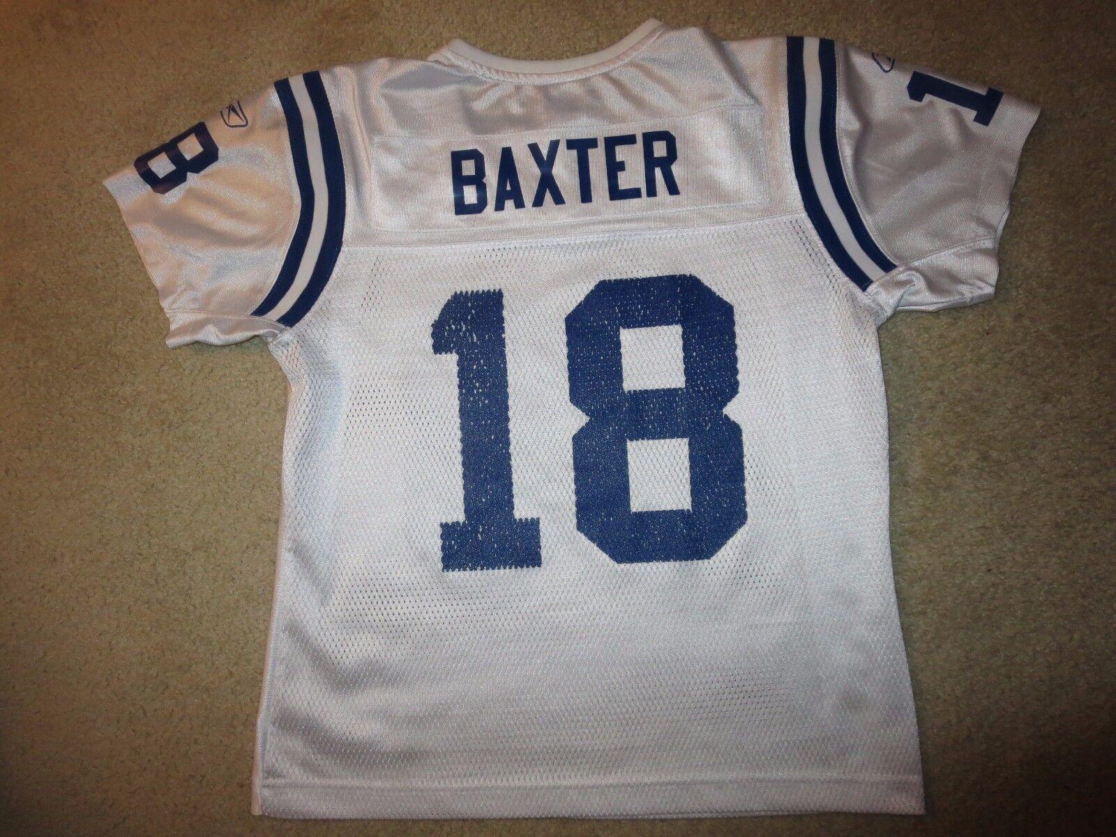 Indianapolis Colts  18 Super Bowl Reebok Baxter NFL Trikot Trikot Trikot Damen M Mittelgroß 5c4a08