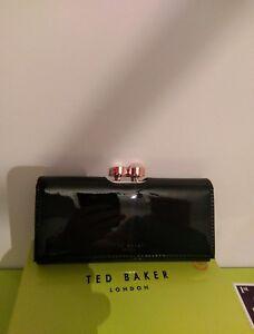in pelle Pearl color nero Baker Cecilie Portafogli Ted Bobble PuTXkiZO