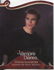 Vampire Diaries Season 1 Die Cut Chase Card D08 Stefan Salvatore