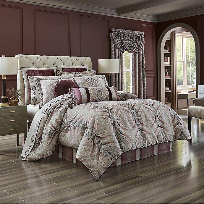 J Queen Gianna 4 Pc Comforter Set, J Queen New York Brandon Bedding Collection