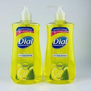 2-Pack-Dial-Complete-Liquid-Hand-Soap-Lemon-amp-Sage-Kills-Bacteria-11-Fl-oz-Each