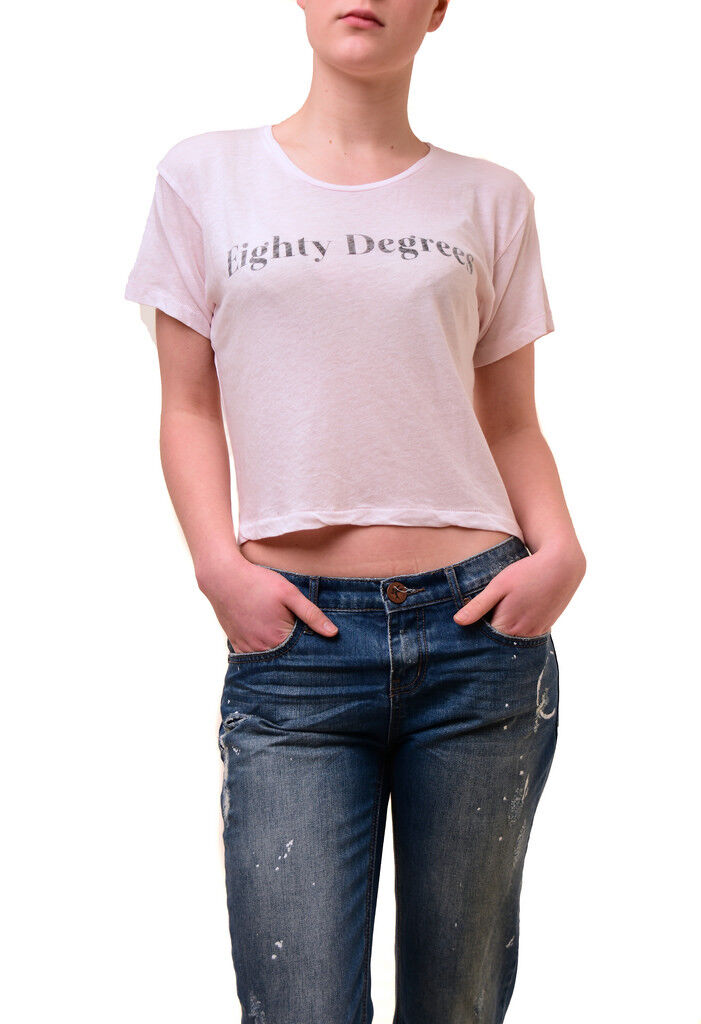 Wildfox Women's Moon Astrology pink Smoke NWT Tee Top Pink Size S RRP   59 BCF74