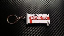 Opel C20Xe Red Top Key Ring Suite Astra Nova Corsa White