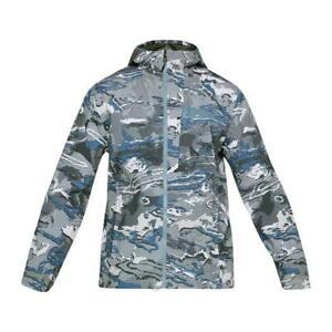 Under-Armour-Full-Zip-Jacke-Mantel-Herren-Groesse-UK-Small-bunt-ref45