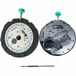 Pour-MIYOTA-OS21-Quartz-Movement-Day-a-6-039-Watch-Repair-Accessories-avec-Tools