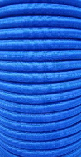 20m Expanderseil blau Gummiseil 8mm Anhängernetz Planenseil  Meter Spannseil