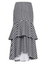 Banana Republic Women S Dress Size 12 Peasant Tiered Ruffle Silk Boho Full Skirt