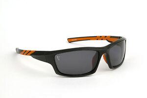 FOX-NEW-Polarized-Black-amp-Orange-Sunglasses-Carp-Fishing-With-Case-CSN039